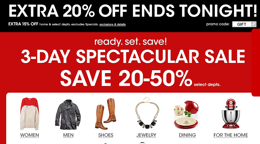 Up to %50 off plus an extra 20%? Yes PLEASE!