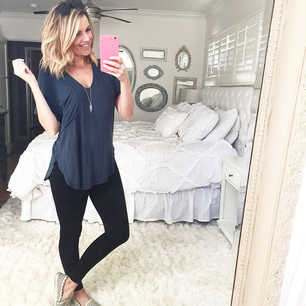 Slouchy Tee = My Favorite Shirt EVER!