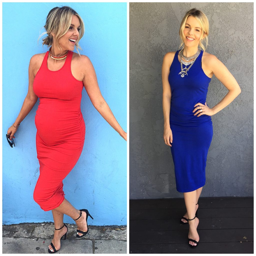 One Dress – Two Very Different Bodies