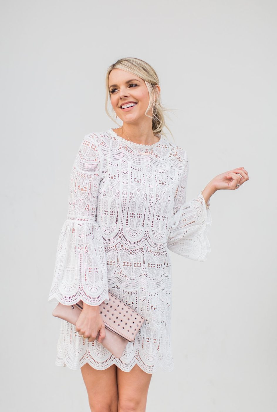 White Lace Dress – Winter White