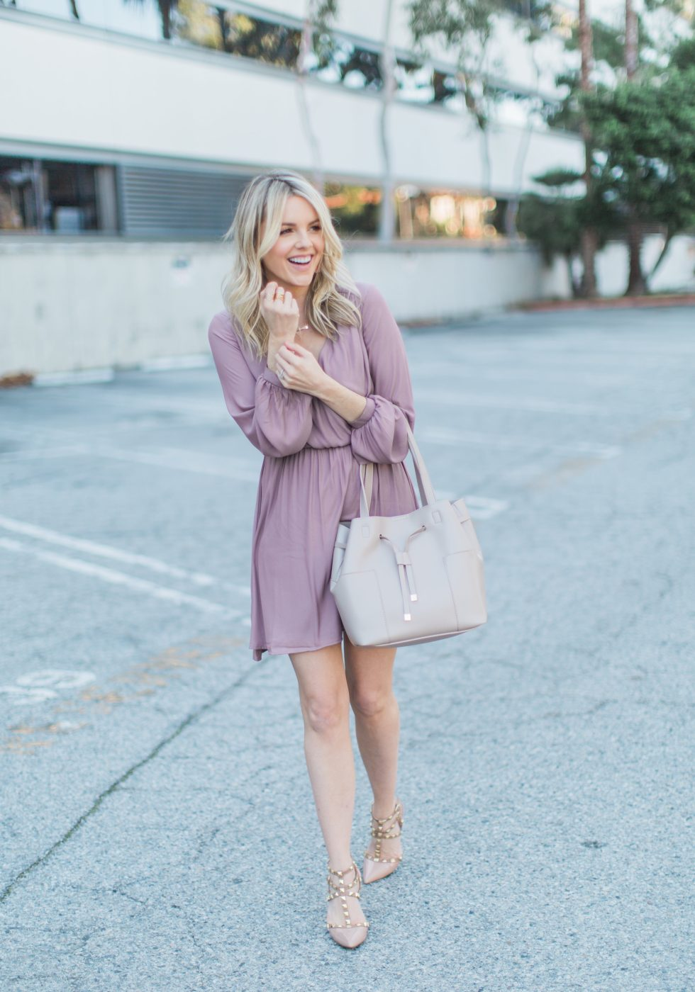 Light Pink Dress – Cool Winter Colors