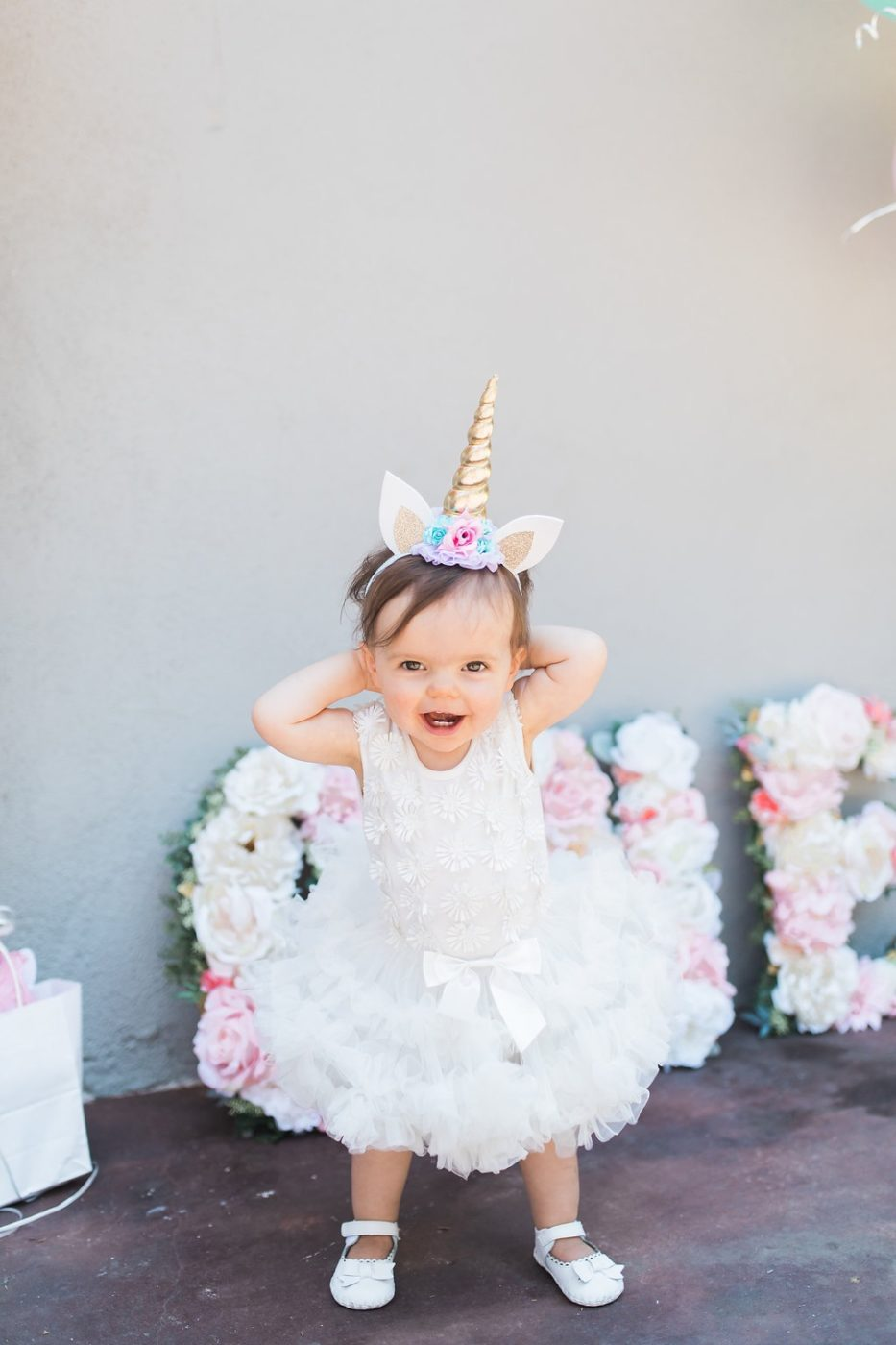 Baby's 1st Birthday! Unicorn Birthday!