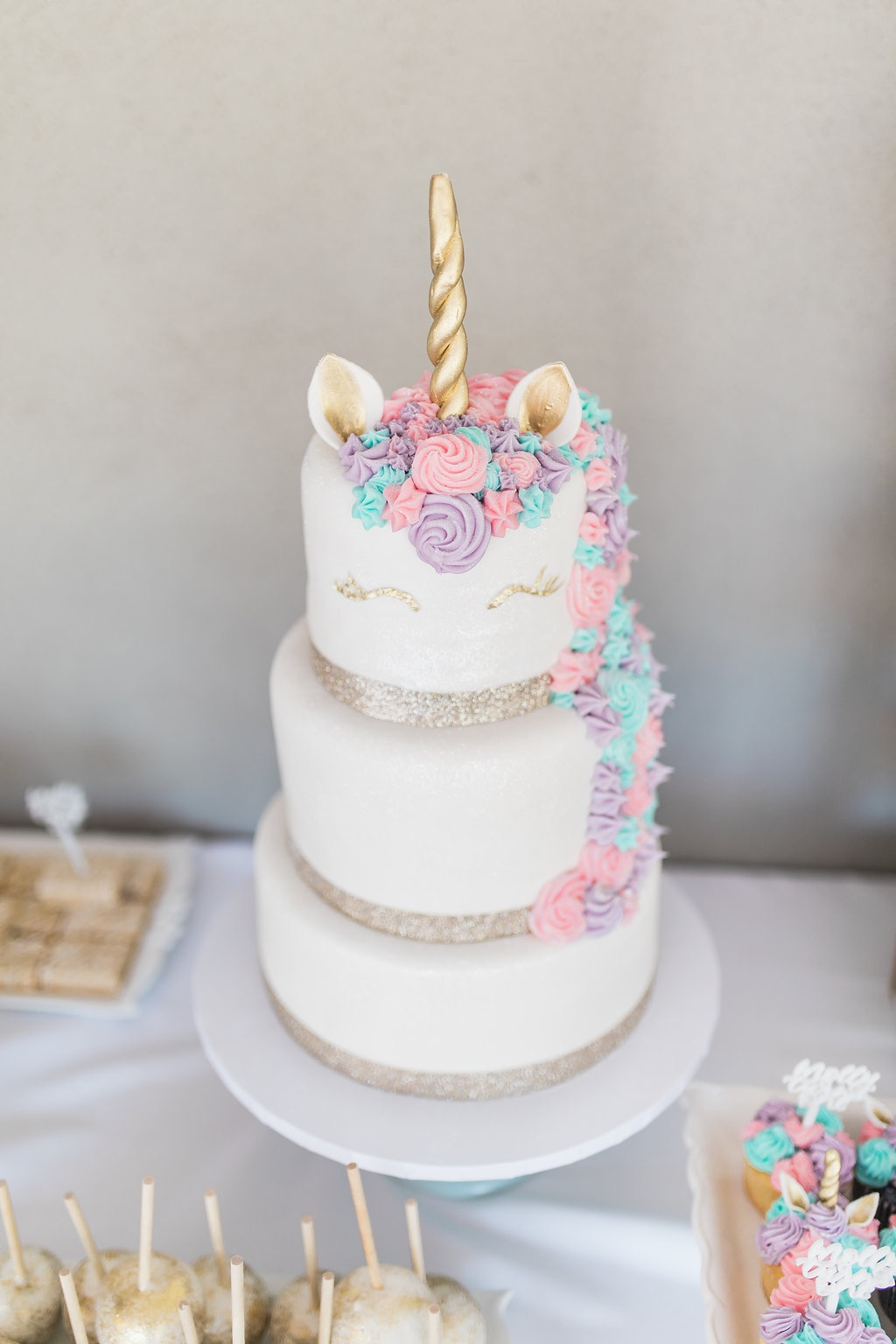 Baby S 1st Birthday Unicorn Birthday Ali Fedotowsky
