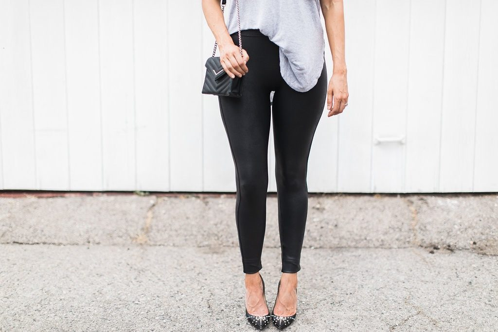 How to Wear Leather Leggings – 3 Different Ways