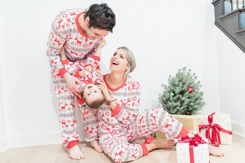 Christmas PJ's for the Fam for Under $20!