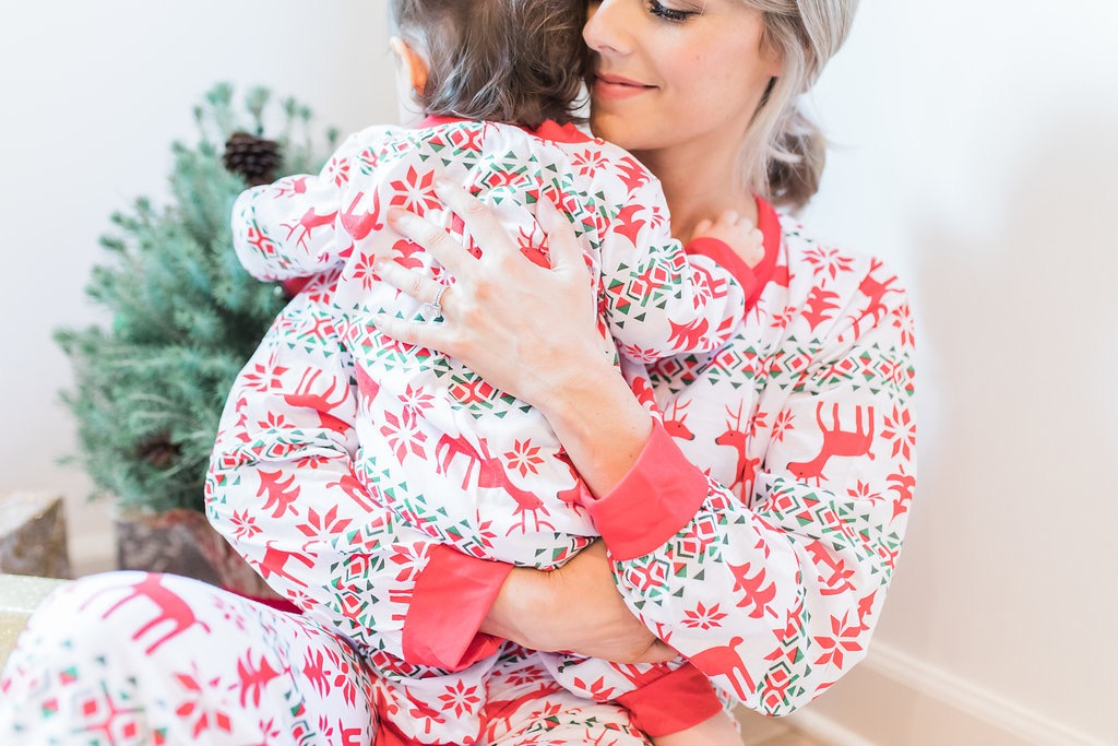 Christmas pjs for the fam for under $20! ali fedotowsky