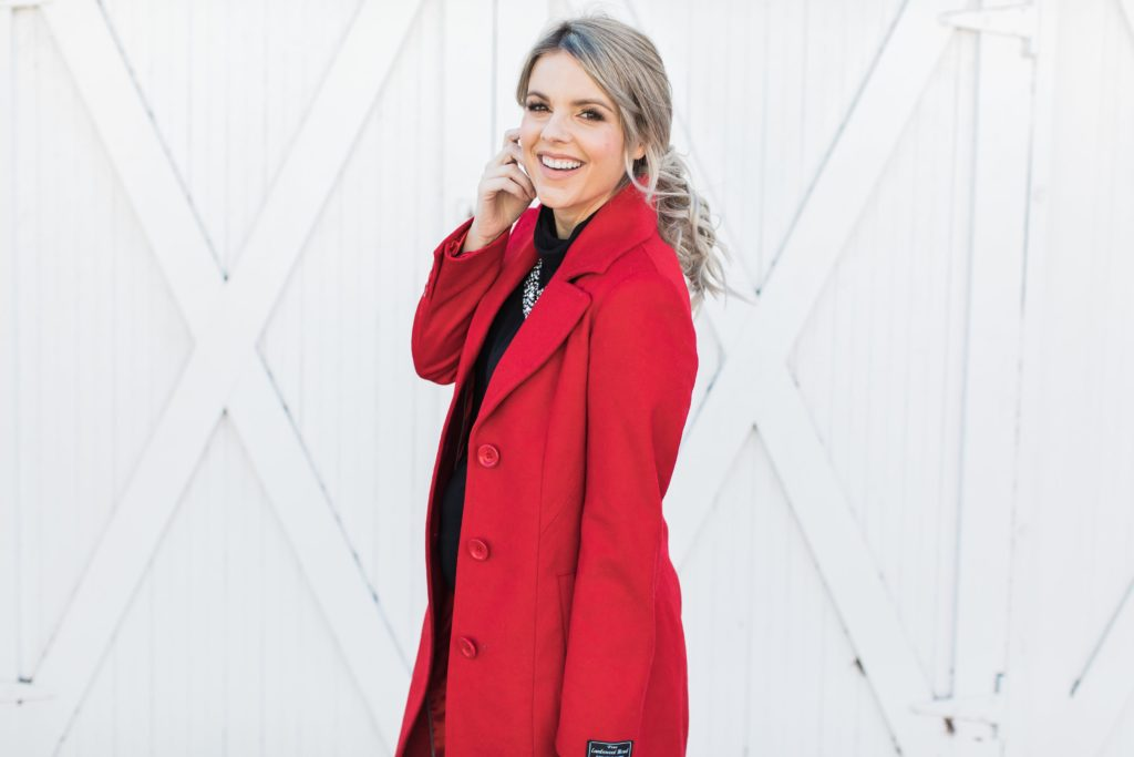 Little Red Coat – On Sale!