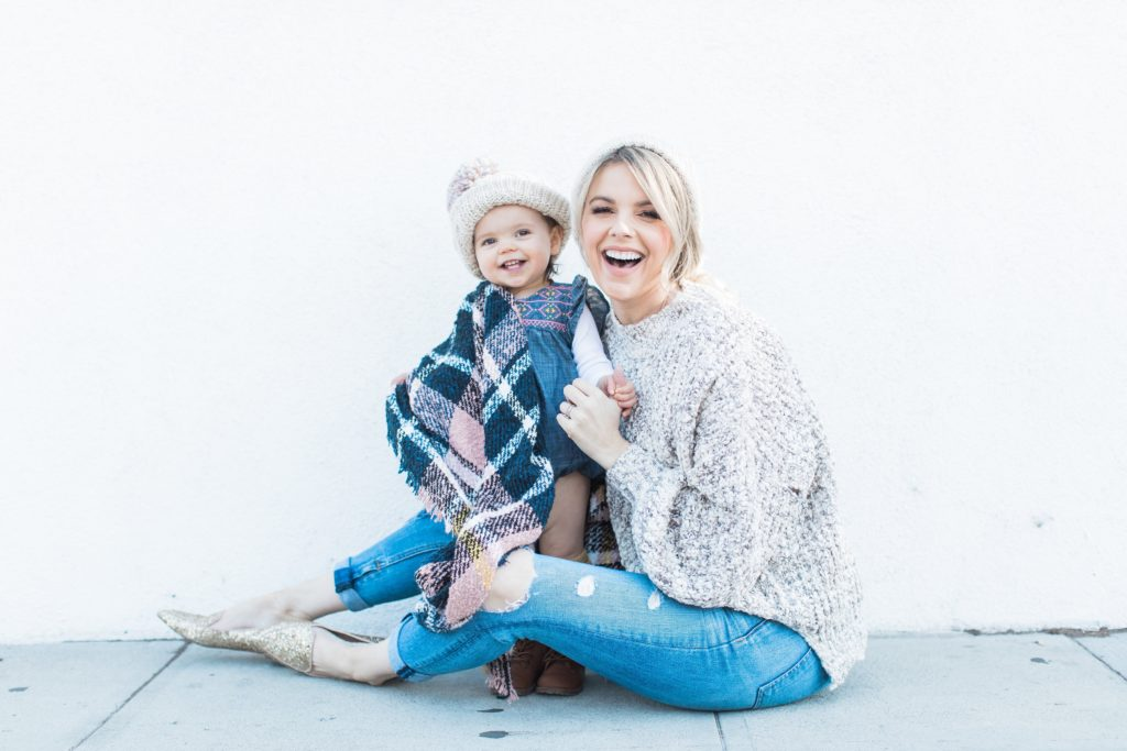 All COZY despite a few bumps – Mommy and Me Hats