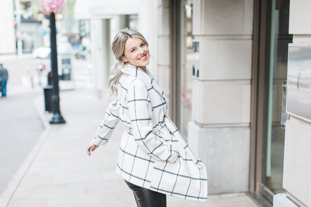 The Perfect Winter Coat – Even works with my bump!