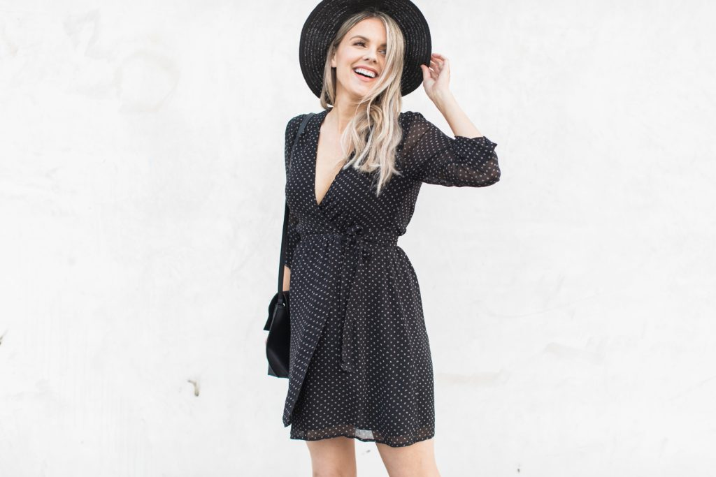 Little Black (Wrap) Dress