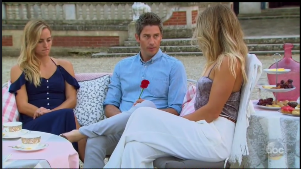 The Bachelor – Arie is REALLY confusing me