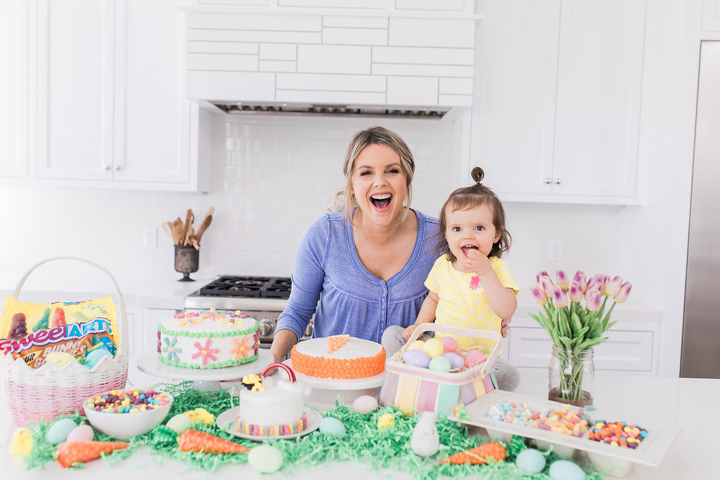 Easter Candy Cakes!