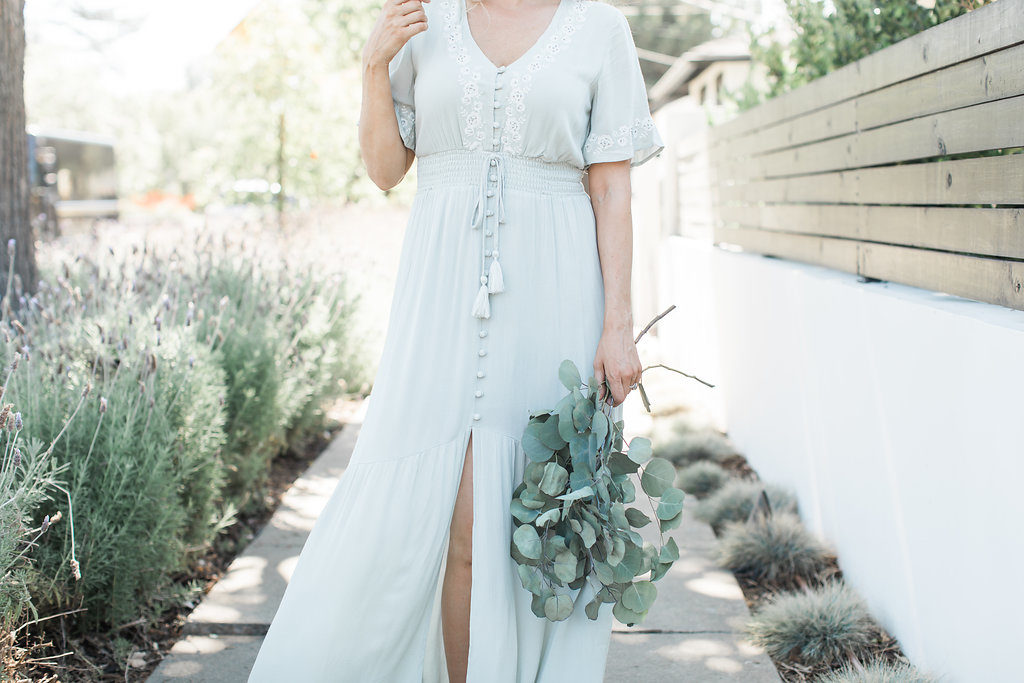 A Beautiful Maxi Dress…