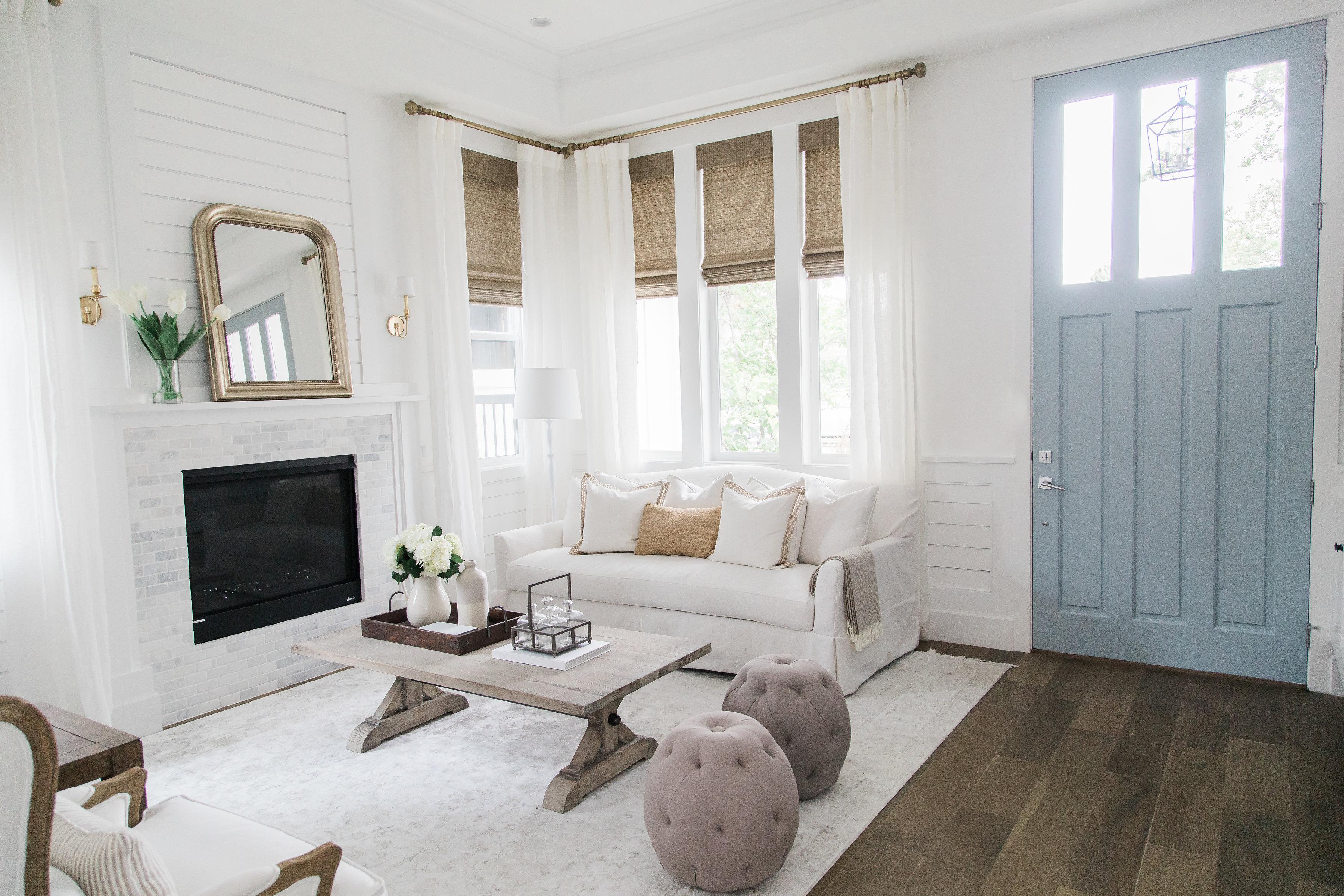 Ali Luvs Home Tour - Formal Living Room | Ali Fedotowsky