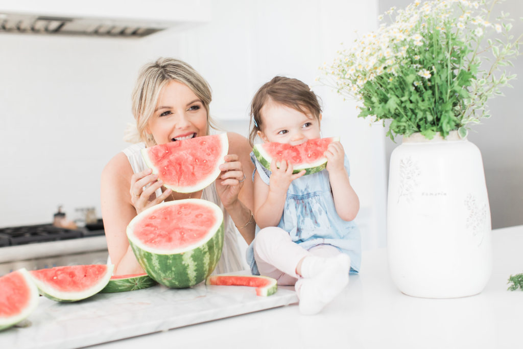 Recyclable Clothes, Fresh Watermelon, and Time with Molly