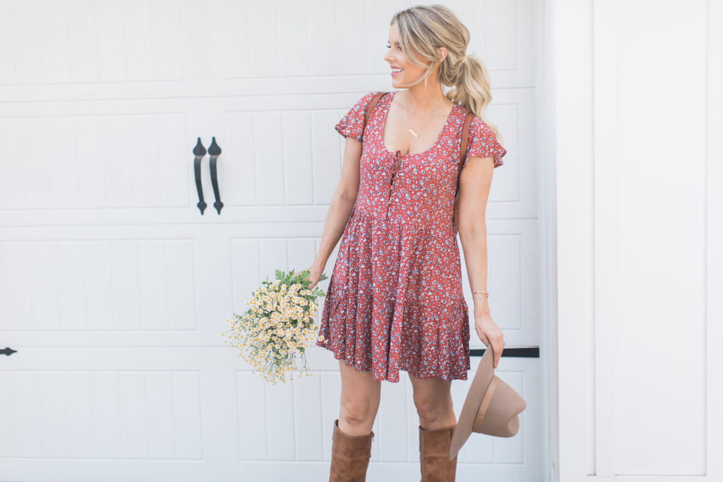 A Great Dress for Summer into Fall