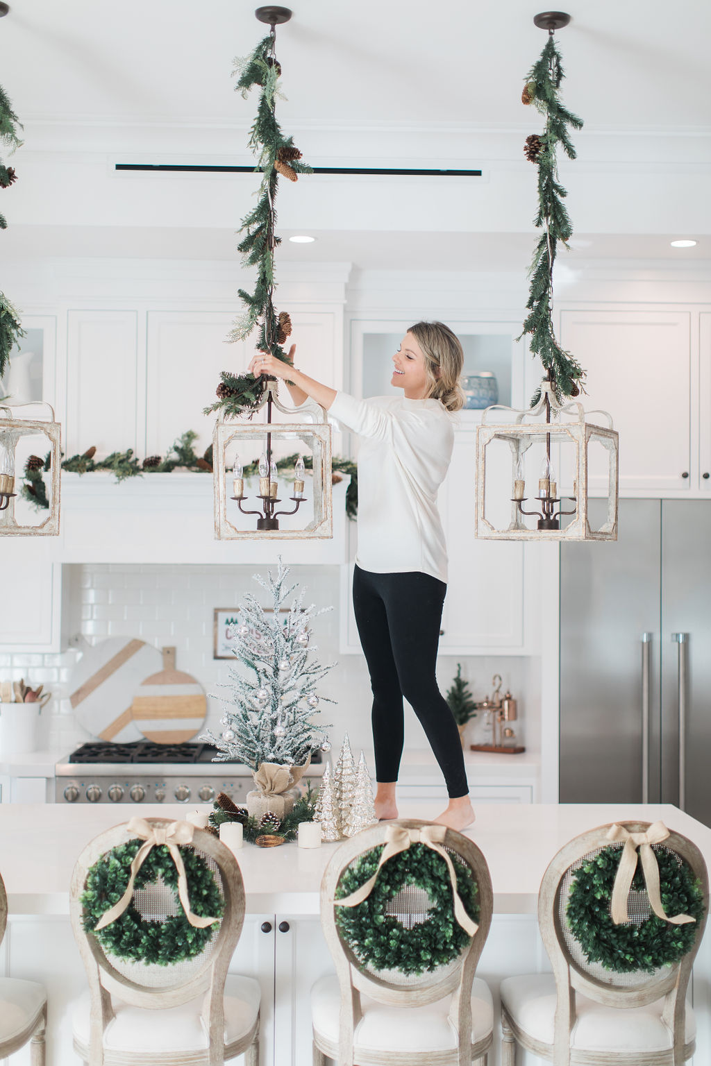 I\'m Dreaming of a White Christmas Kitchen! | Ali Fedotowsky