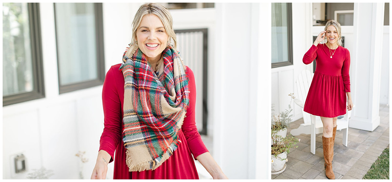 $18 forever 21 dress ali manno scarf
