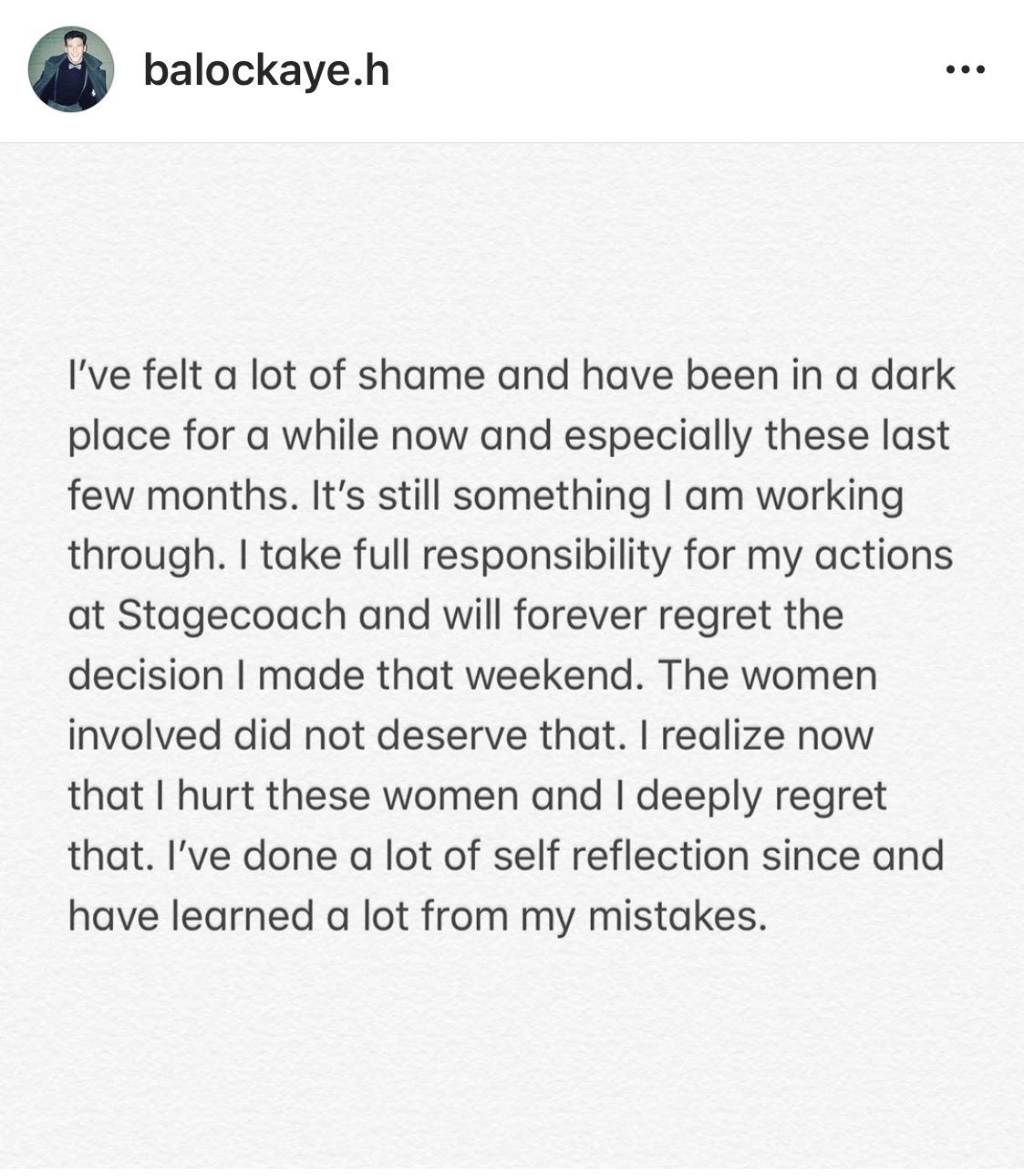 Blake Horstmann texts Caelynn BIP instagram message 3
