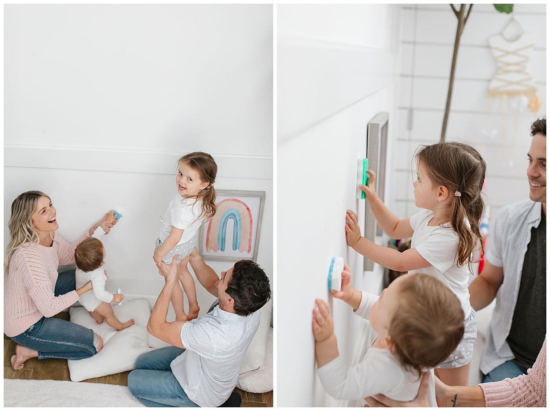 time saver with kids magic eraser