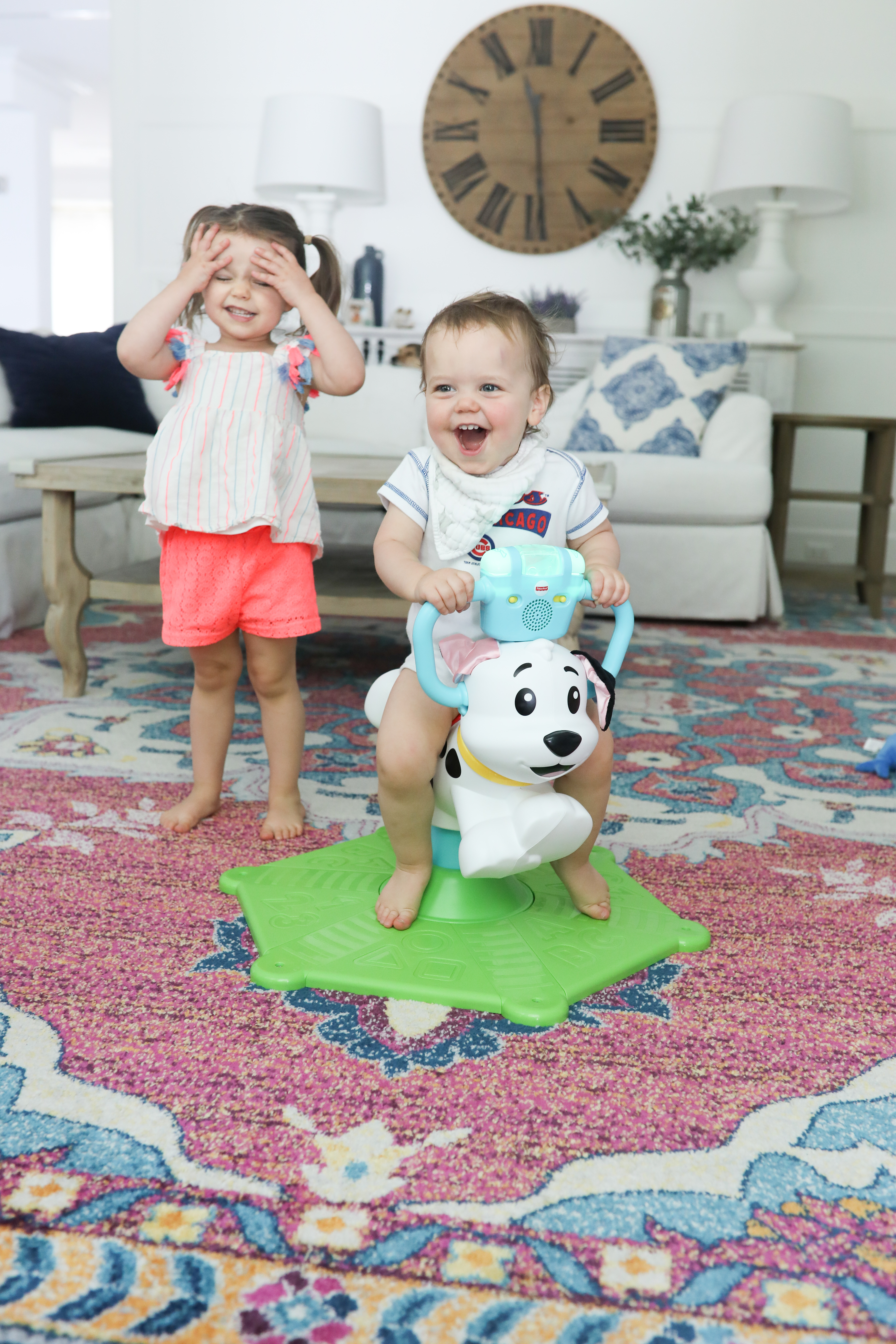 best toys for toddlers bounce and spin dog
