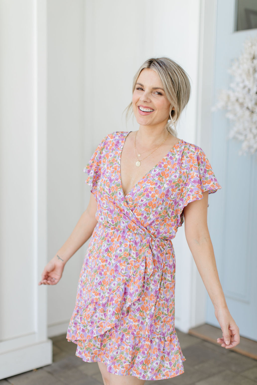 floral dress nordstrom affordable