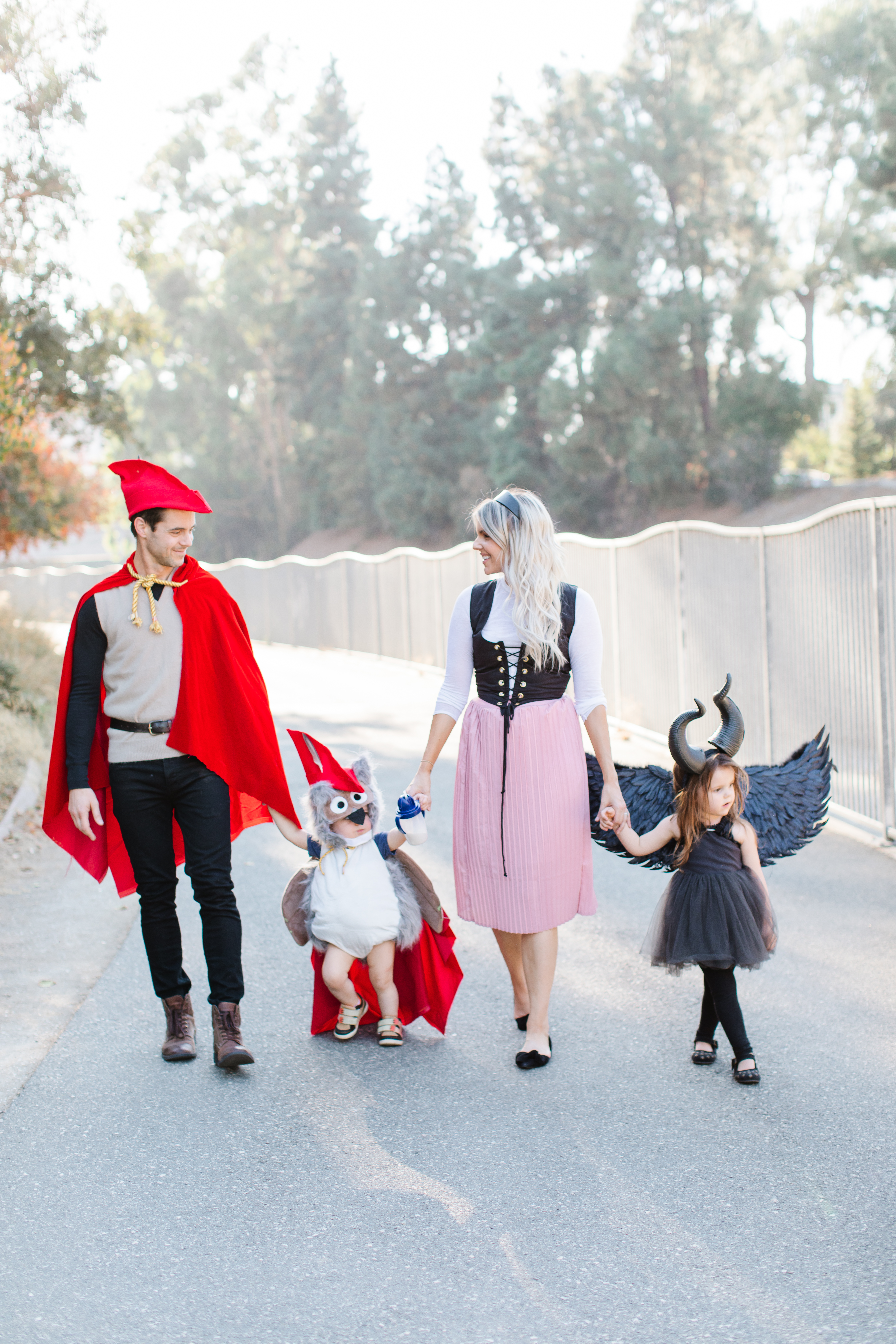 Maleficent Family Costume Ali Manno Fedotowsky