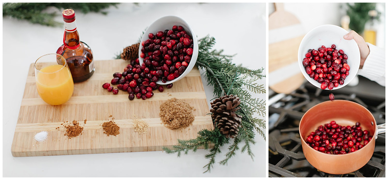 cranberry sauce holiday recipes