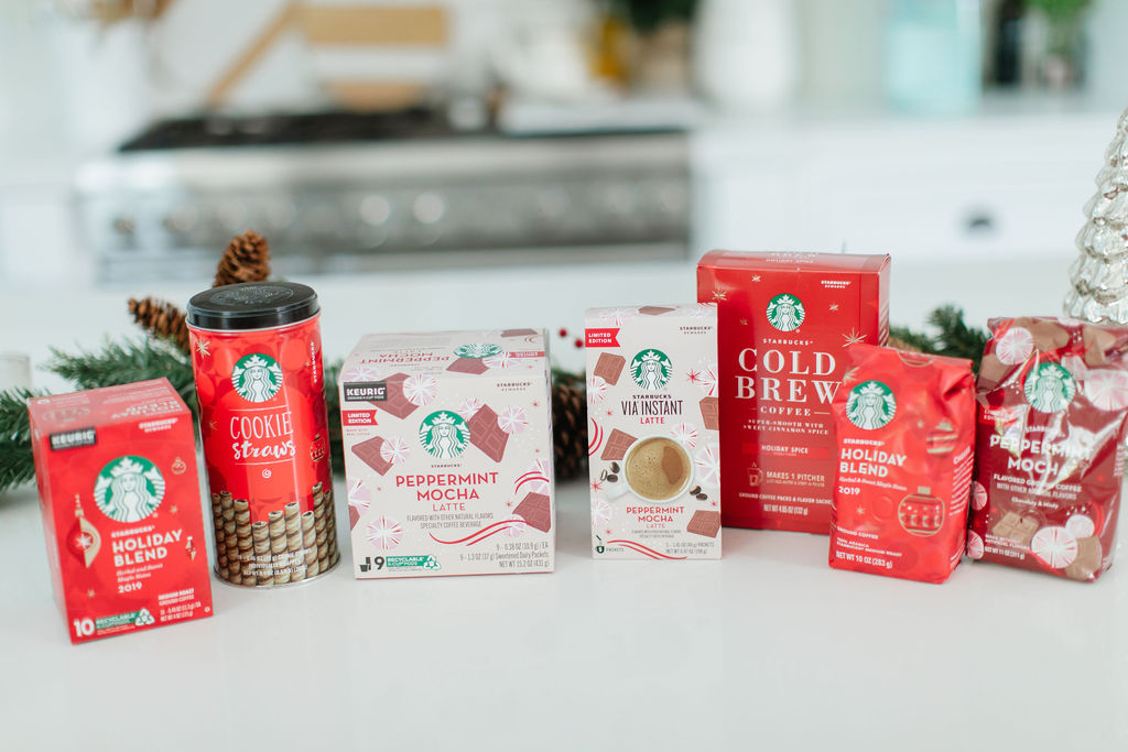 starbucks holiday at home beverages