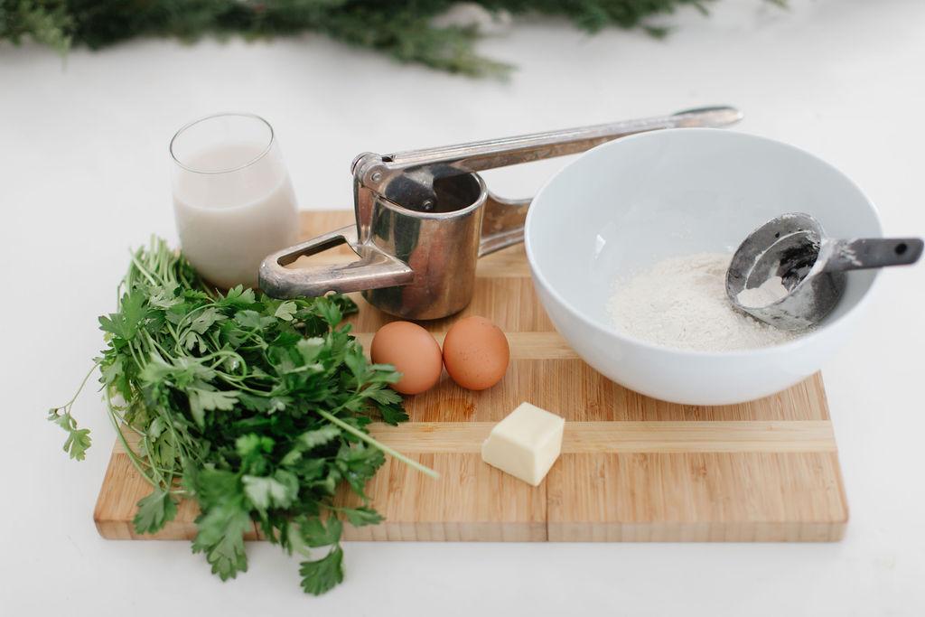 spaetzle holiday recipes