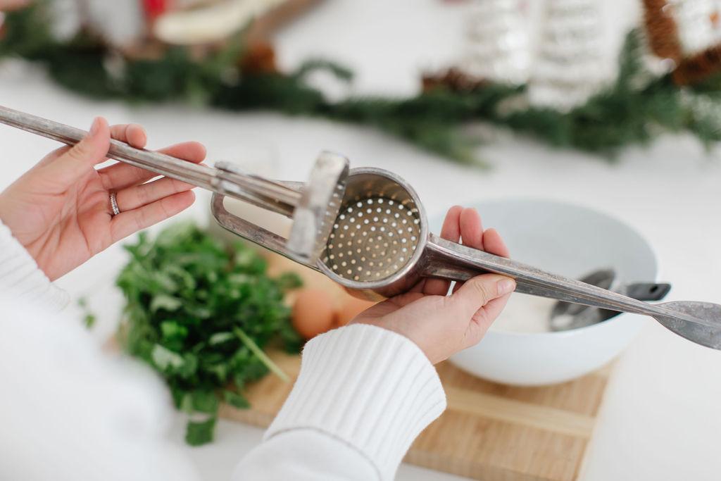 spaetzle press holiday recipes
