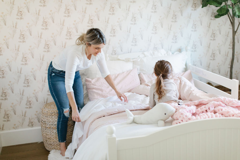 making your bed healthy lifestyle