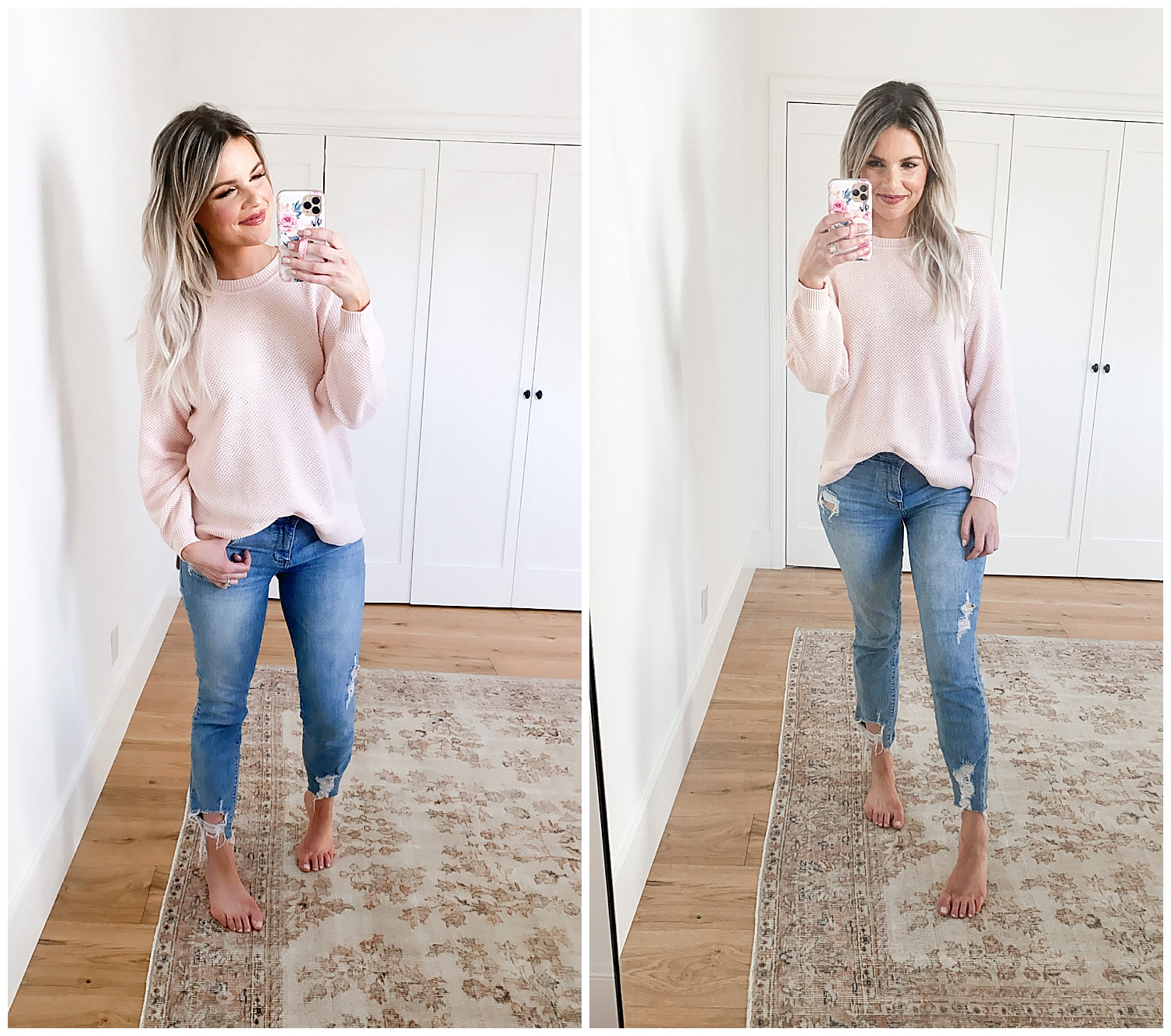 pink sweater 3 sweaters under $25