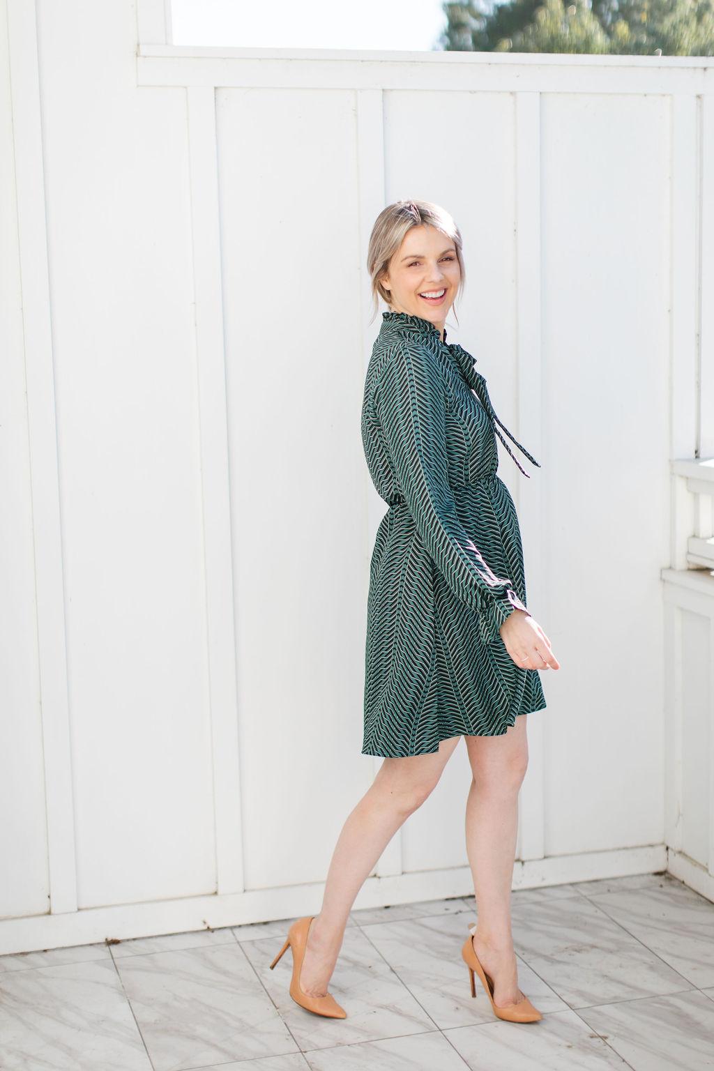 geometric nordstrom dress