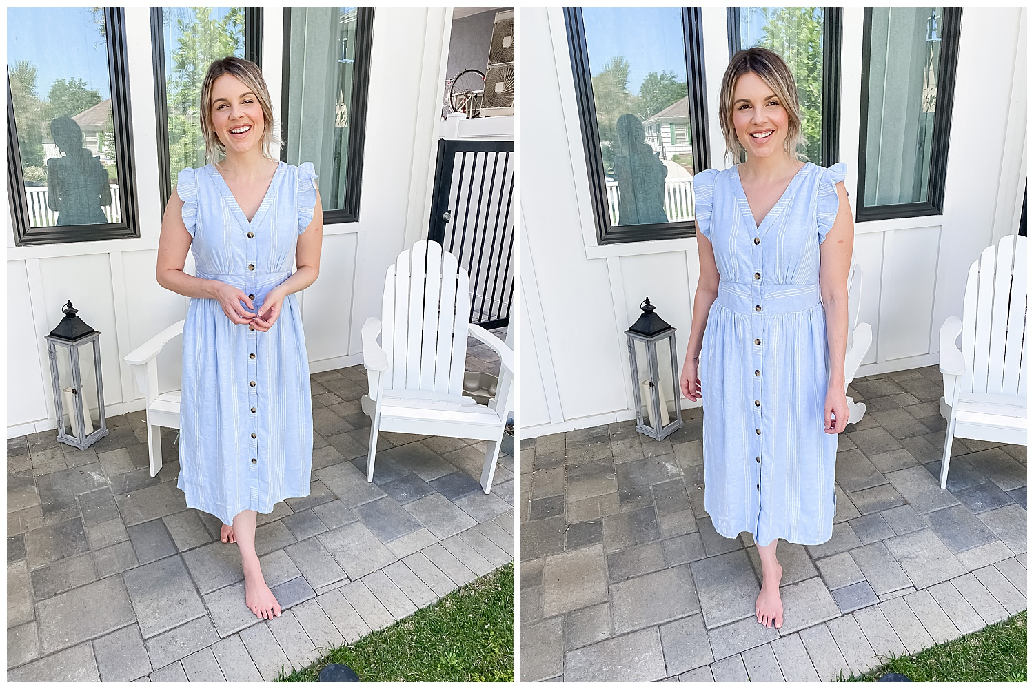 blue dress - summer edition