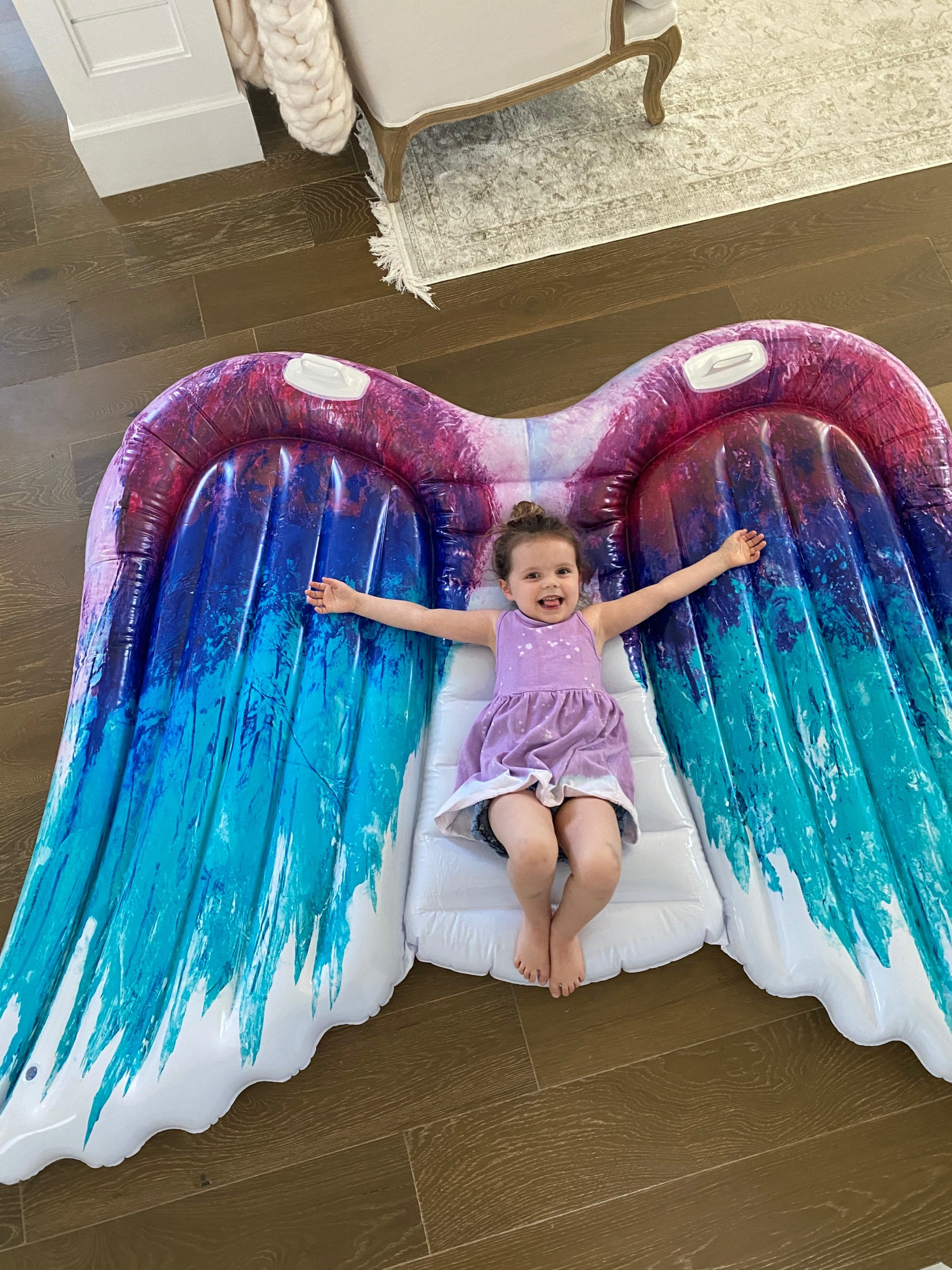 angel wing float summer edition