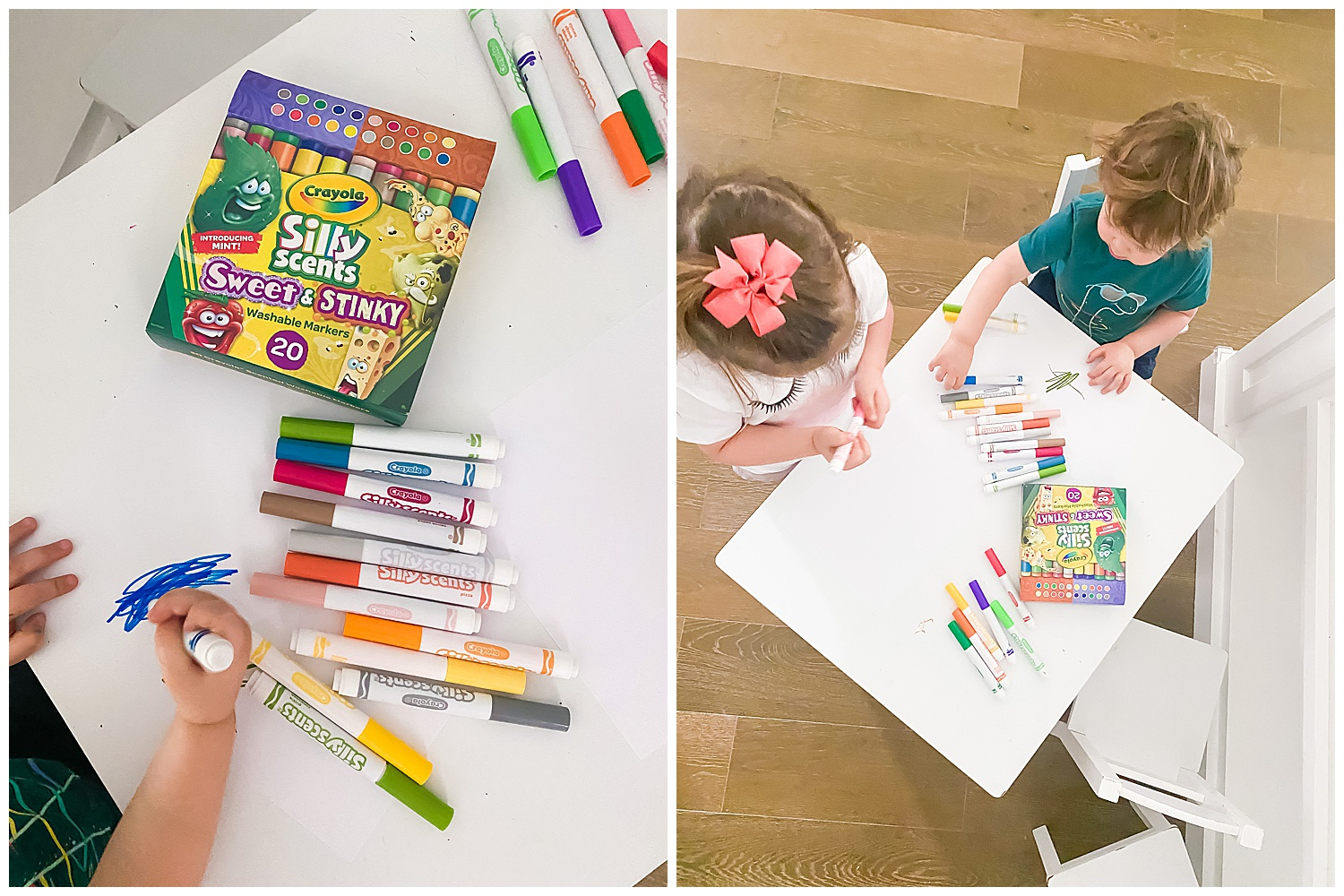 silly scents sweet & stinky markers