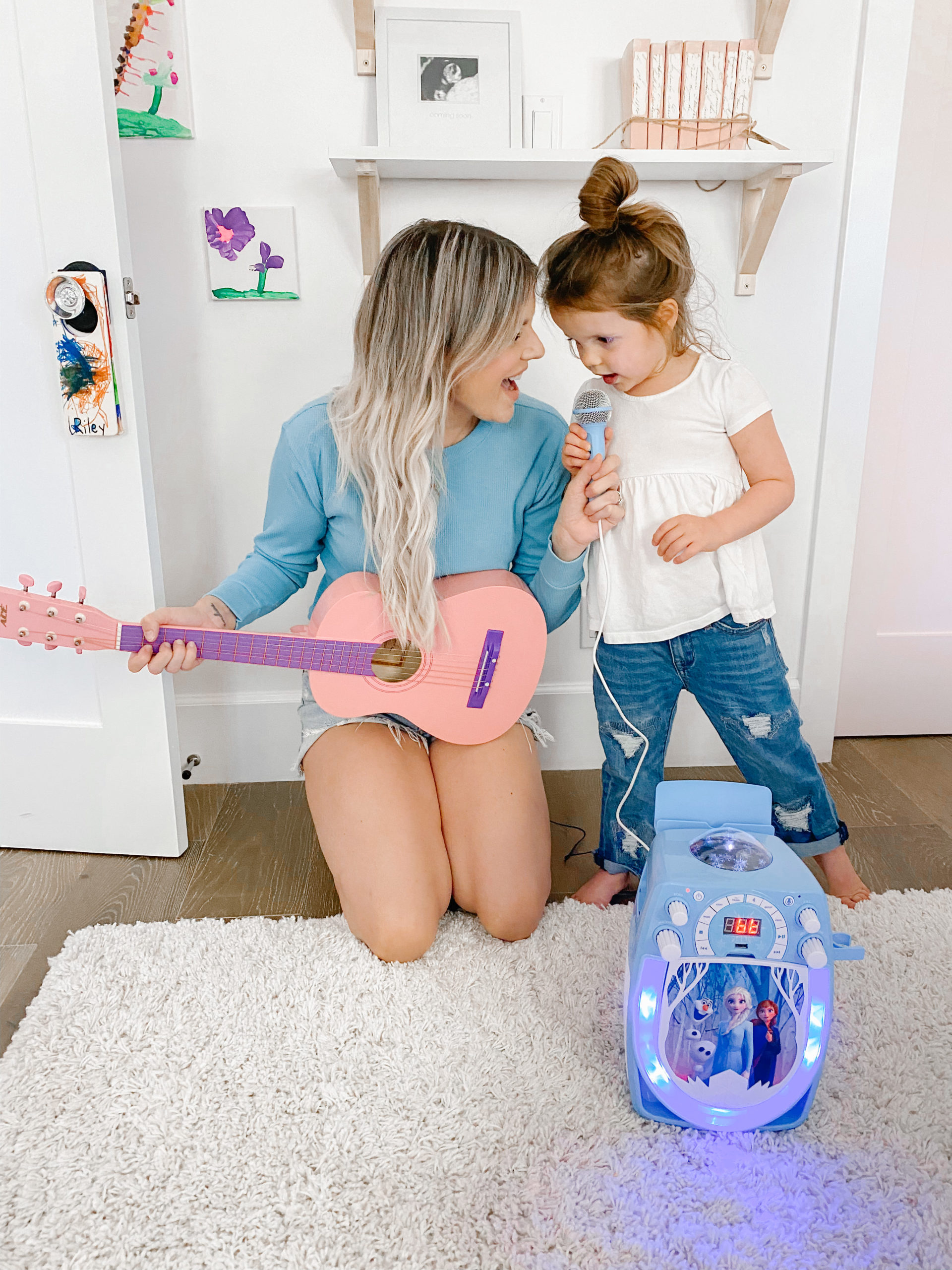 fun toys - guitar and karaoke